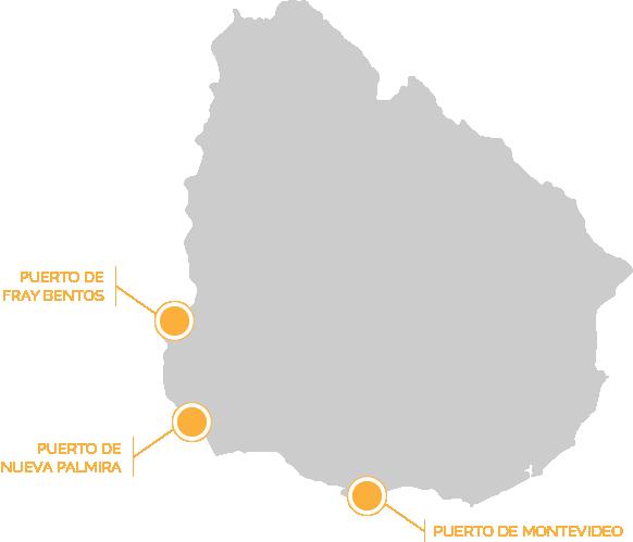 Utilaje - Contacto - Mapa Puertos