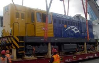 """Operativa Locomotora """"Corporación Ferroviaria del Uruguay"""""""